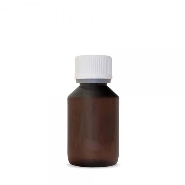 Aromen/Base PET-Veralflasche braun 100 ml