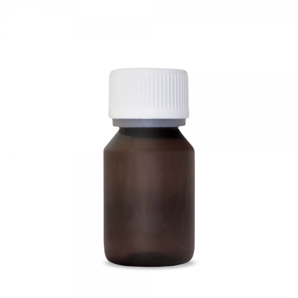 Aromen/Base PET-Veralflasche braun 50 ml