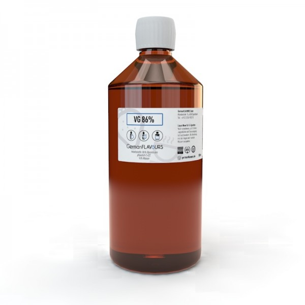 Vegetable Glycerin (VG) 86,5% ohne Nikotin