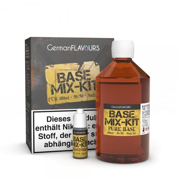 Mix Kit 50/50 für 480ml Base mit 3mg Nikotin