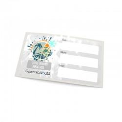 Surf Wave Menthol Selbstmischer-Etikett für Leerflaschen