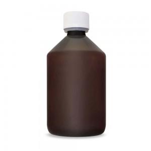 Aromen/Base PET-Veralflasche braun 500 ml