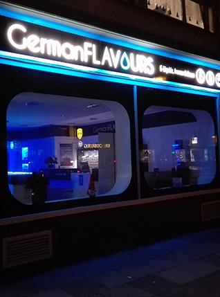 GermanFLAVOURS Store Troisdorf2