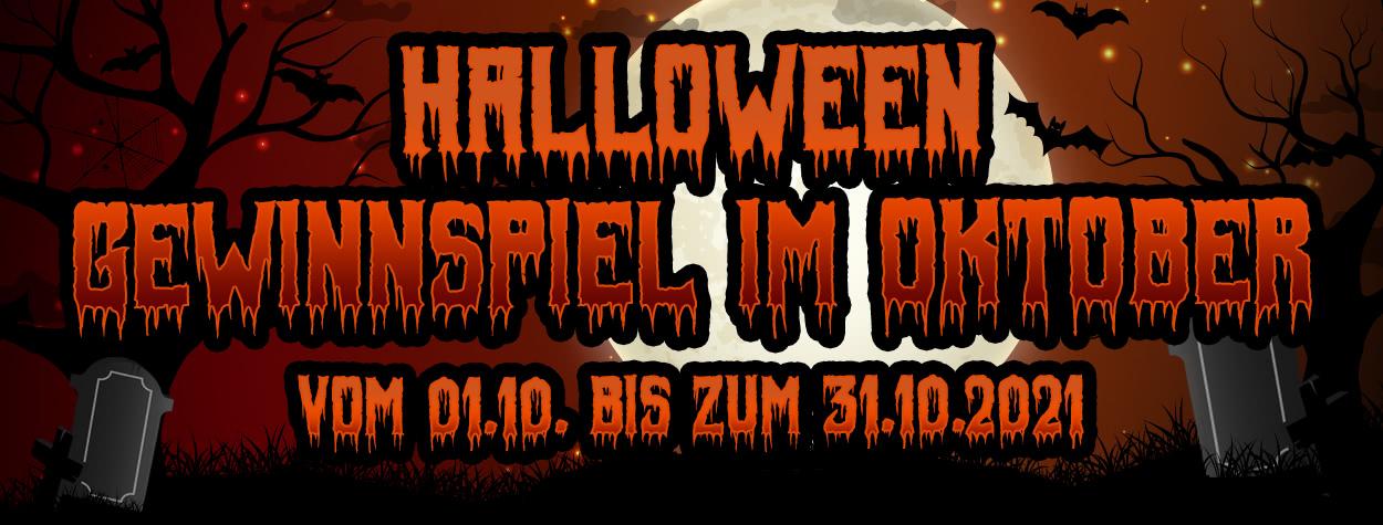 Halloween Gewinnspiel